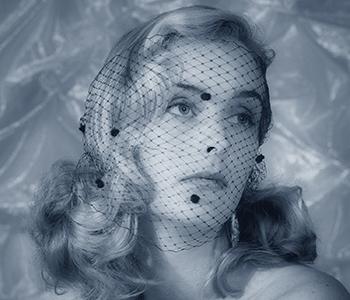 Blue Toned portrait by Robyn Hills Sunshine Coast
