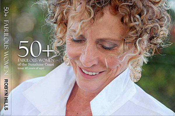 The 50+ Fabulous Women of the Sunshine Coast book cover.